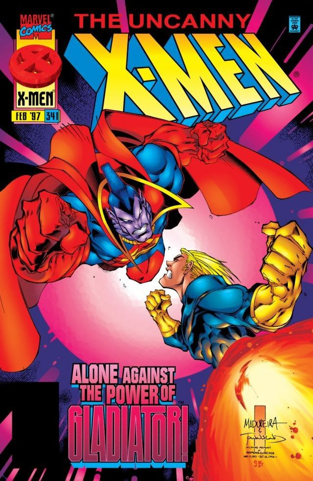 Uncanny X-Men #341