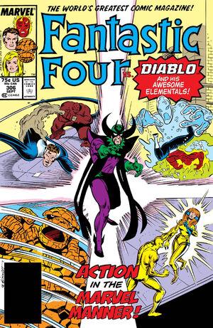 Fantastic Four Vol 1 306