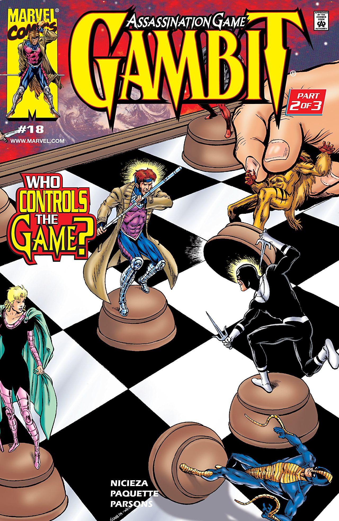 Resultado de imagen para gambit 18