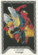 Warren Worthington III and Peter Parker (Earth-616) Spider-Man Team-Up (Trading Cards) 0001