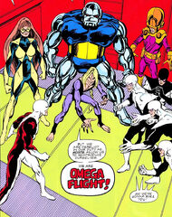 Omega Flight (Jaxon) (Earth-616) from Alpha Flight Vol 1 11 001