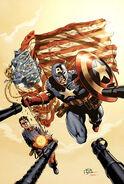 Avengers Invaders Vol 1 2 Perkins Variant Textless