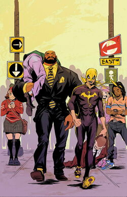 Power Man and Iron Fist Vol 3 2 Textless