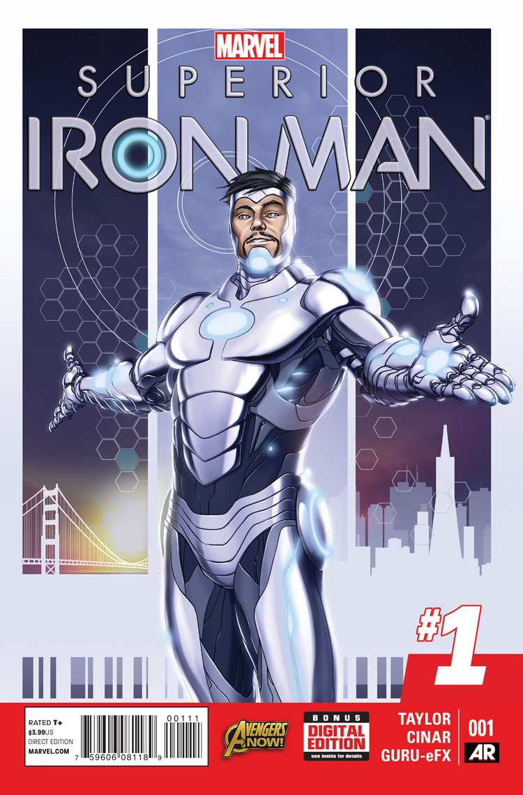 Superior iron man vol 1 1 marvel database fandom powered by wikia - Iron man 1 images ...
