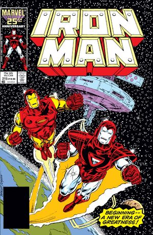 Iron Man Vol 1 215