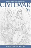 Civil War Vol 1 6 Sketch Variant