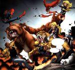 New Avengers (Earth-97161) from Avengers vs. Pet Avengers Vol 1 3 001