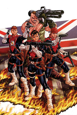 Revolutionary War Supersoldiers Vol 1 1 Textless