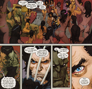 James Howlett (Earth-1610) Bruce Banner (Earth-1610) Ultimate Wolverine vs. Hulk Vol 1 1 01