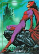 Wanda Maximoff (Earth-616) from Marvel Masterpieces Trading Cards 1992 Lost Marvel Cards 0001