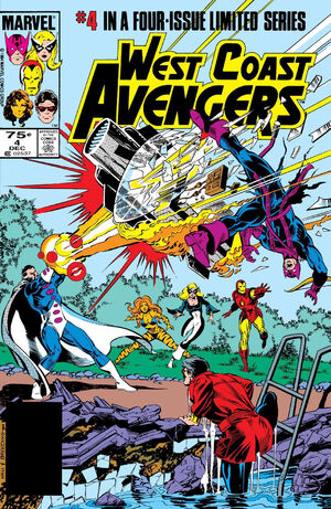 West Coast Avengers Vol 1 4