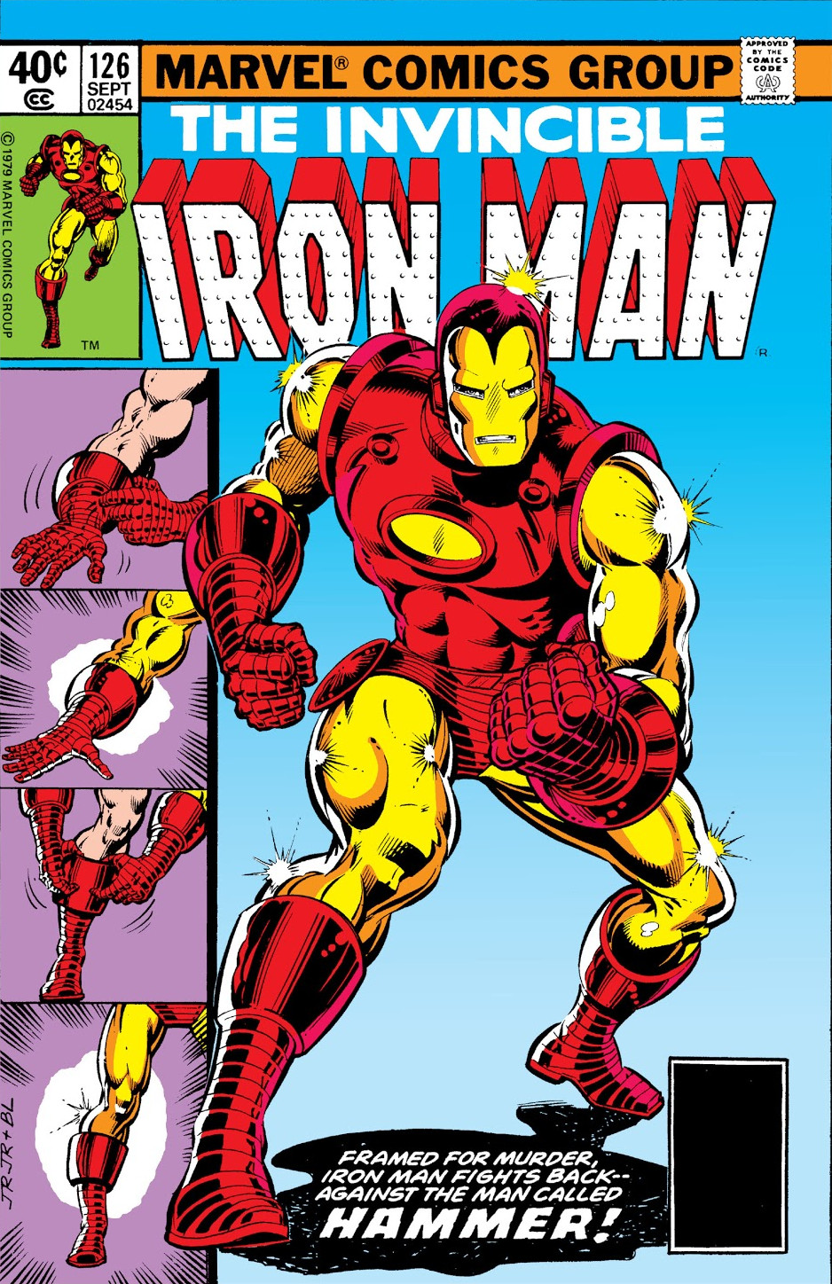 Iron man vol 1 126 marvel database fandom powered by wikia - Iron man 1 images ...