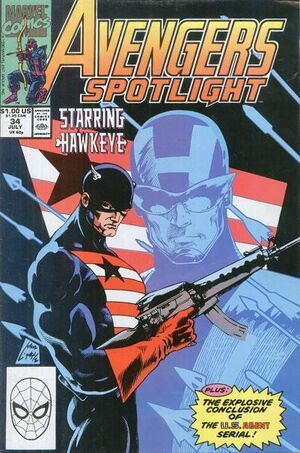 Avengers Spotlight Vol 1 34