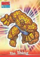 Benjamin Grimm (Earth-616) from Marvel Legends (Trading Cards) 0001