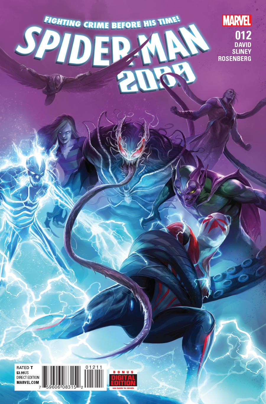 SpiderMan 2099 Vol 3 12 Marvel Database Fandom