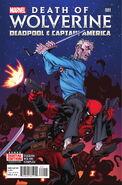 Death of Wolverine Deadpool & Captain America Vol 1 1