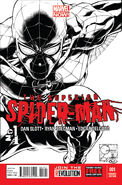 Superior Spider-Man Vol 1 1 Joe Quesada Sketch Variant