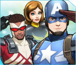 Team Cap (Earth-TRN562) from Marvel Avengers Academy 001