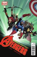 Avengers Vol 5 24.NOW Avengers as X-Men Christopher Variant