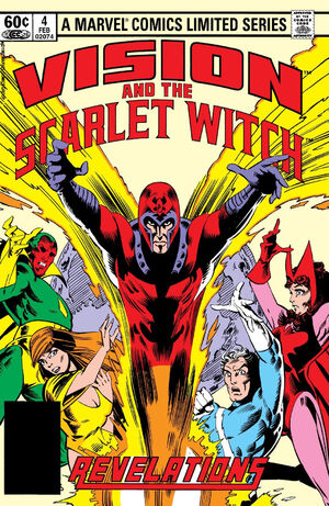 Vision and the Scarlet Witch Vol 1 4