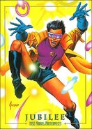 Jubilation Lee (Earth-616) from Marvel Masterpieces Trading Cards 1992 Lost Marvel Cards 0001