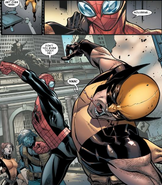 Otto Octavius (Earth-616) and James Howlett (Earth-616) from Avenging Spider-Man Vol 1 16 001