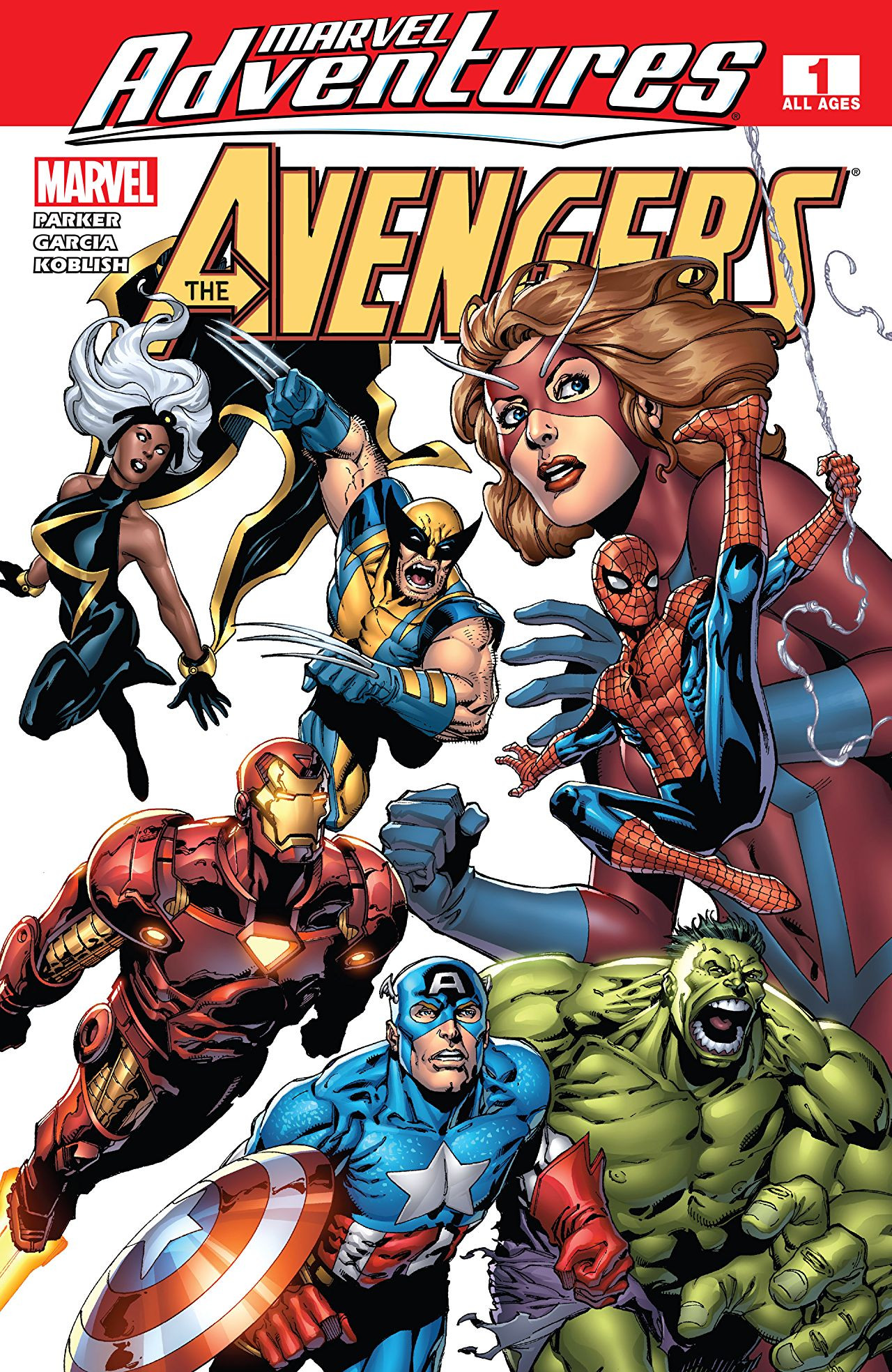 Marvel Adventures The Avengers Vol 1 1