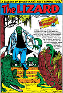 Lizard Pin-Up from Amazing Spider-Man Annual Vol 1 1