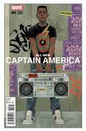 All-New Captain America Vol 1 4 Noto Variant