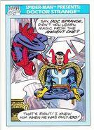 Spider-Man Presents Doctor Strange from Marvel Universe Cards Series I 0001