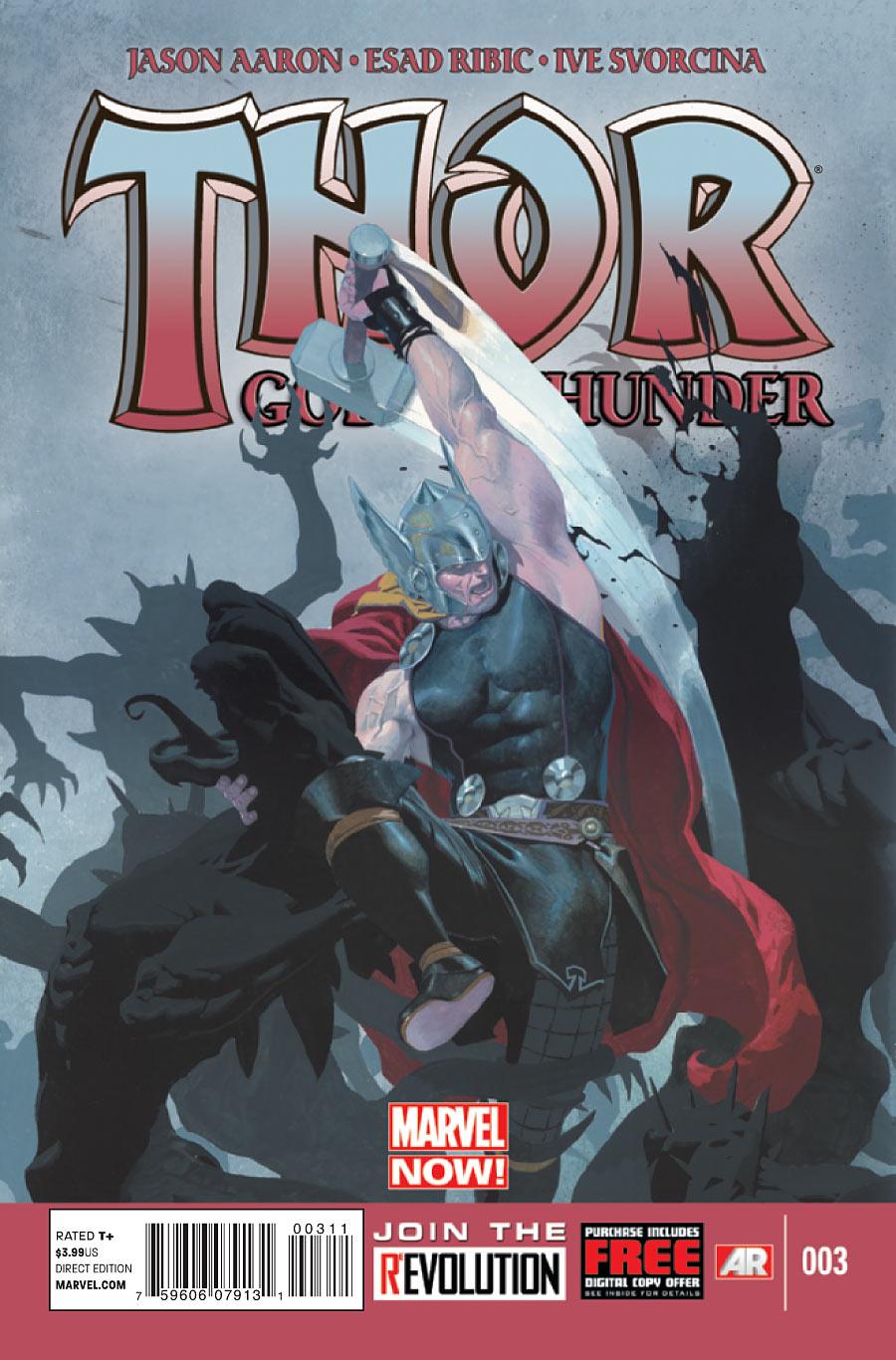 Thor: God of Thunder Vol 1 3 | Marvel Database | FANDOM ...  Thor