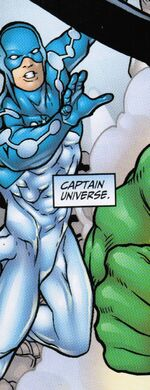 Captain Universe (Earth-22519) - Fantastic Four Annual Vol 1 2001