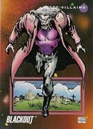 Blackout (Lilin) (Earth-616) from Marvel Universe Cards Series III 0001