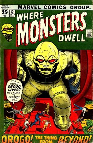 Where Monsters Dwell Vol 1 12