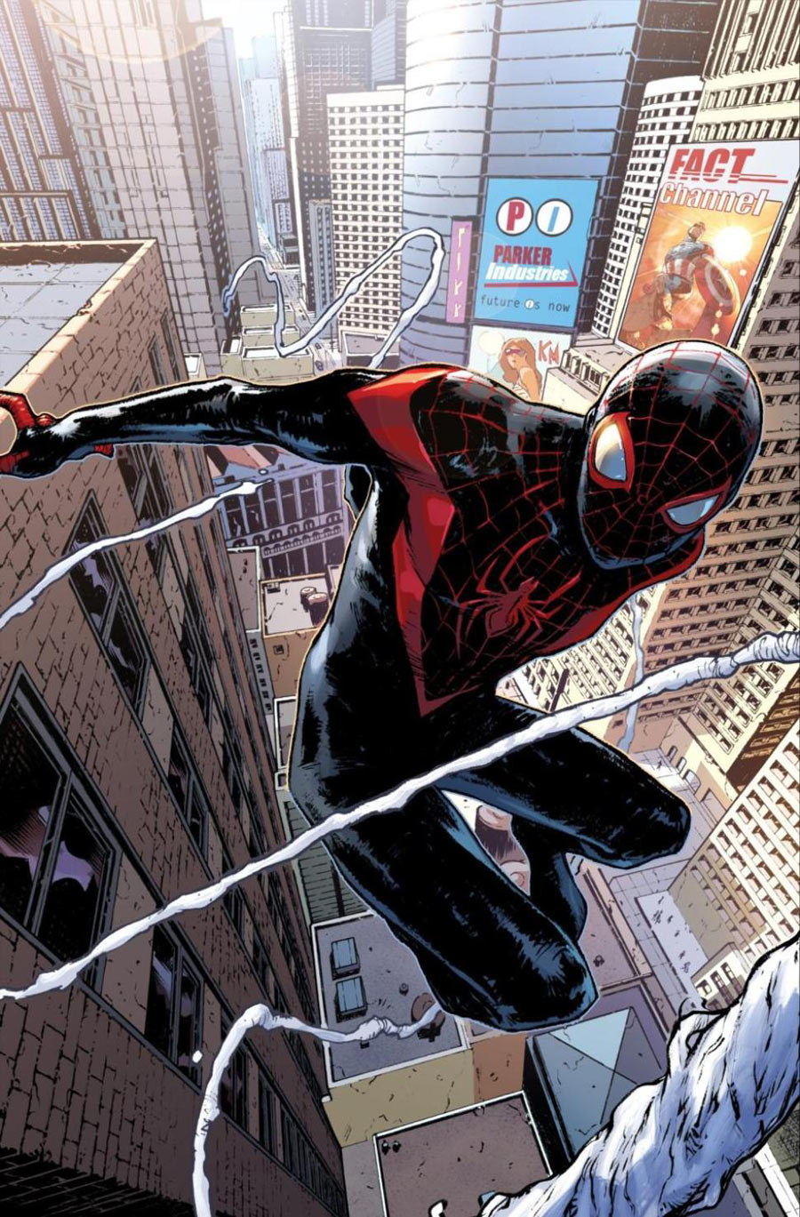 Image result for spiderman miles morales