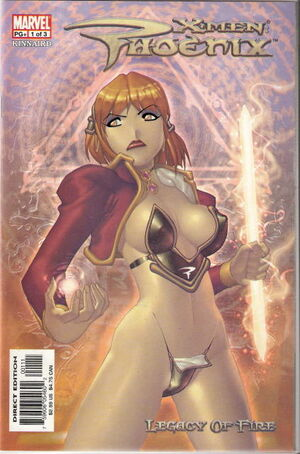 X-Men Phoenix Legacy of Fire Vol 1 1