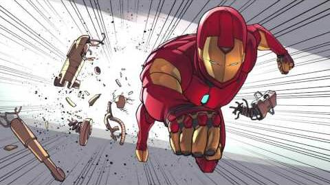 Spider-Man & Iron Man In... Training Day, Part 3 Marvel Video Comics Disney XD
