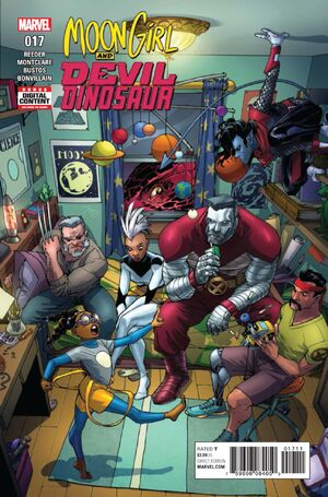 Moon Girl and Devil Dinosaur Vol 1 17