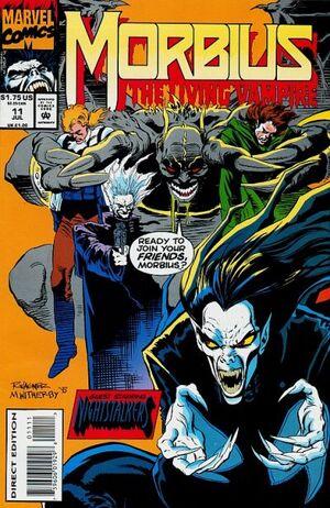 Morbius The Living Vampire Vol 1 11