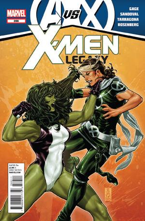X-Men Legacy Vol 1 266
