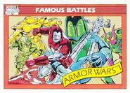Armor Wars (Earth-616) from Marvel Universe Cards Series I 0001