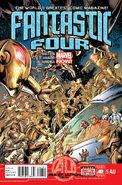 Fantastic Four Vol 4 5AU