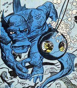 Gargantus (Aquatic Monster) (Earth-616) from Strange Tales Vol 1 85 0001