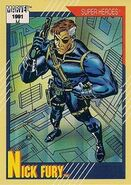 Nicholas Fury (Earth-616) from Marvel Universe Cards Series II 0001