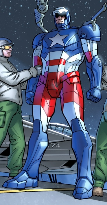 Iron Patriot Armor   M...
