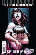 Ultimate Spider-Man Vol 1 160 Bagley Spoiler Variant