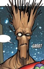 Groot (Earth-TRN421) from 100th Anniversary Special - Guardians of the Galaxy Vol 1 1 0001