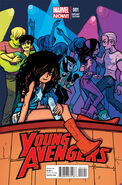 Young Avengers Vol 2 1 O'Malley Variant