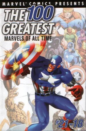 100 Greatest Marvels of All Time Vol 1 2