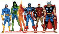 Avengers (Earth-90110) from Avengers Assemble Vol 1 1 0001
